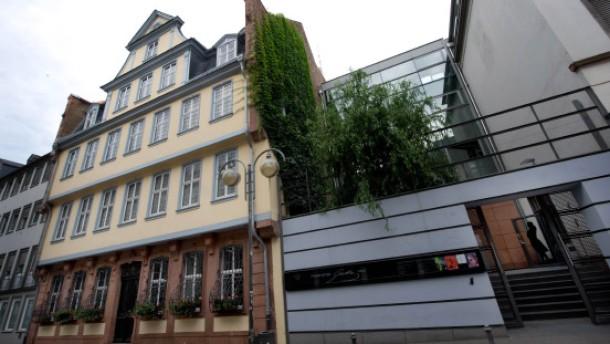 Goethe-Haus - Johann Wolfgang von Goethe wurde am 28. August 1749 im heutigen Goethe-Haus in Frankfurt geboren