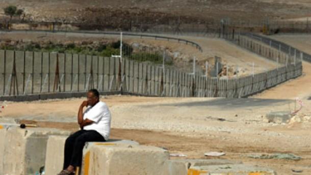 Israel will Sperranlage trotz UN-Resolution weiterbauen