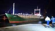 Geisterschiff erreicht Italien