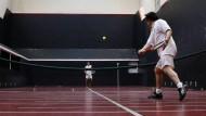 Tennis wie im 17. Jahrhundert
