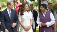 William und Kate in Indien