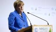 Merkel fordert verbindliches Klima-Abkommen