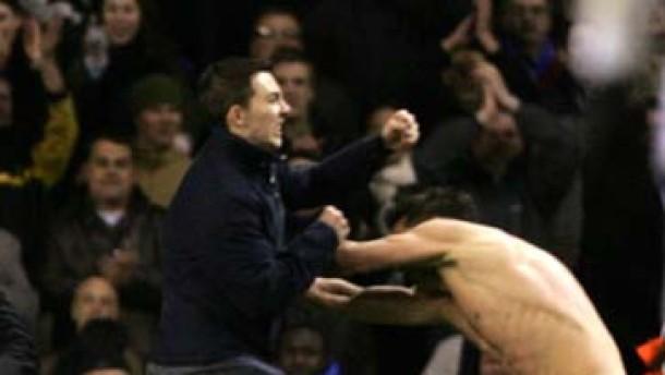 Chelseas Lampard von Fan angegriffen
