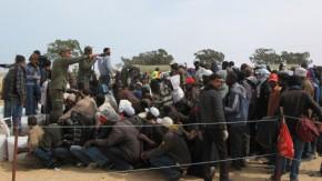 Ruhe vor dem Sturm an libyscher Grenze