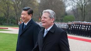 Xi Jinping zu Gast in Berlin