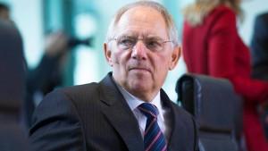Schäubles Haushaltsmischmasch