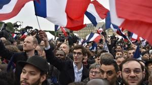 Glückwünsche für Macron