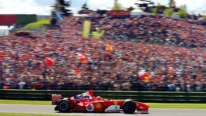 Schumacher wird erst nach dem Rennen überholt