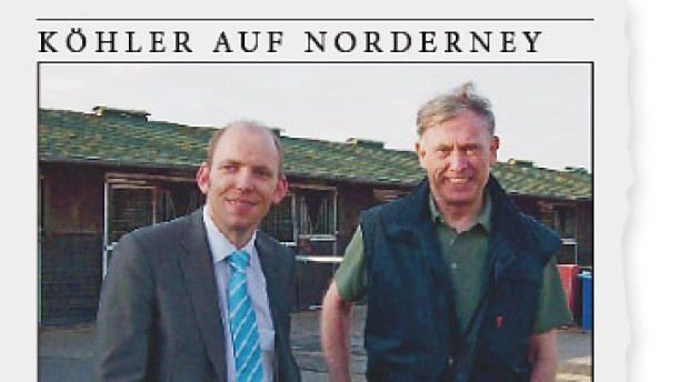 Wo ist Horst Köhler?