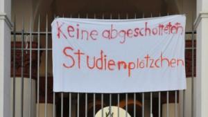 Polizei beendet Besetzung der Münchner Uni