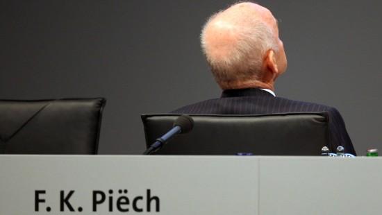 Piëch gibt Ämter bei Volkswagen auf
