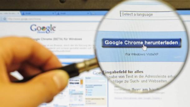 Bundesamt warnt vor Google Chrome