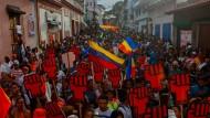 Umstrittene Präsidentenwahl in Venezuela