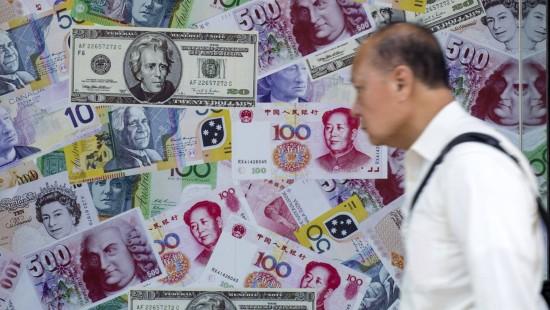Yuan gibt weiter nach