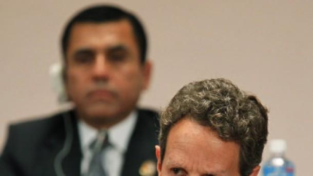 Geithner sieht starken Dollar in Amerikas Interesse