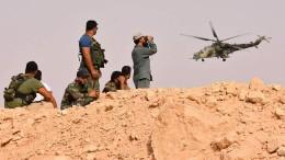 Syrische Truppen durchbrechen IS-Belagerungsring