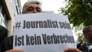 Al Dschazira Journalist Mansur in Berlin verhaftet