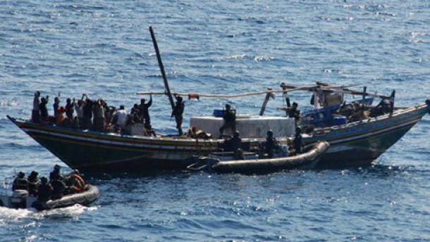 Indische Marine vereitelt Überfall auf Handelsschiff