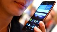 Smartphone-Gebrauch verändert das Gehirn