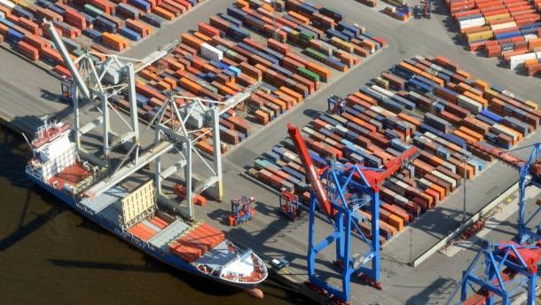 Wirtschaftsministerium: Exportüberschuss ist ein Problem