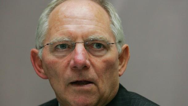 Schäuble denkt an Europäischen Währungsfonds