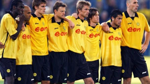 Borussia Dortmund: Austria Wien statt AC Mailand