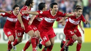 Die Türkei trifft im Halbfinale auf Deutschland