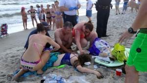 Jugendliche überleben Hai-Attacke