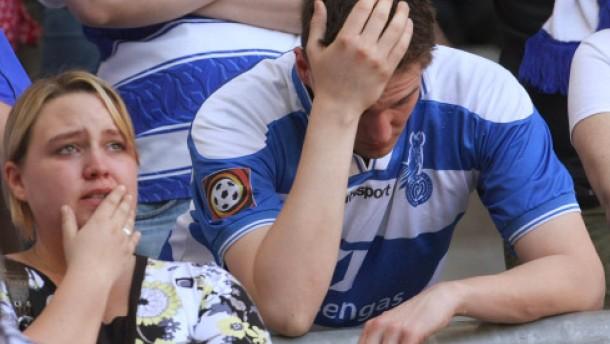 """Duisburg und Rostock steigen ab - Liga vor """"Finale furioso"""""""