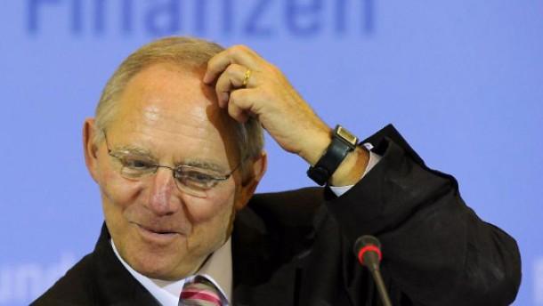 Bild / Neuverschuldung des Bunde / Finanzminister Schäuble