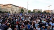 Massenproteste gegen Orbán in Ungarn