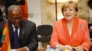 EU bietet Afrika mehr Hilfe an