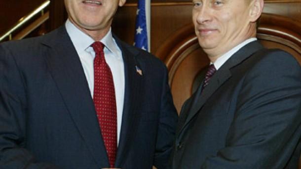 Bush und Putin besorgt über Iran und Nordkorea