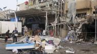 Viele Tote nach Anschlag in Bagdad