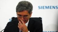Siemens-Eigner verlieren langsam Geduld mit Kaeser