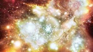 Riesiger Galaxienzusammenstoß nahe der Erde