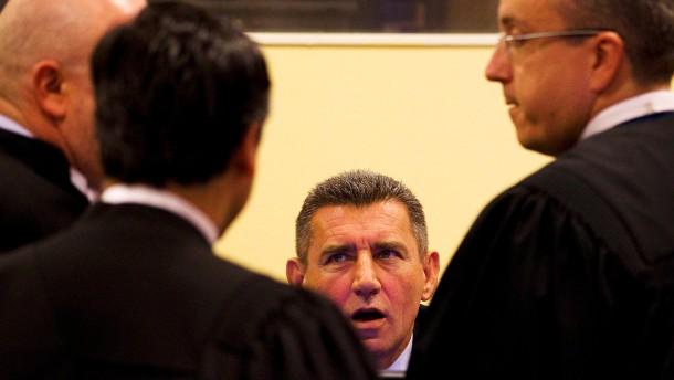Empörung in Kroatien über Gotovina-Urteil
