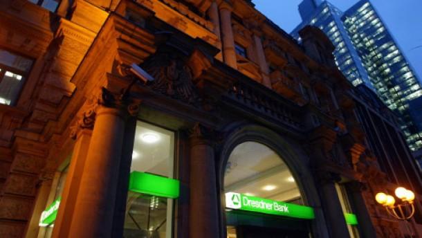 Dresdner Bank vor der Aufspaltung