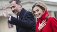 Spanisches Königspaar in Berlin