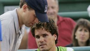 Verletzung stoppt Haas, deutsches Doppel siegt