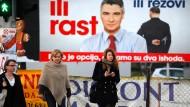 Kroatien vor der Parlamentswahl