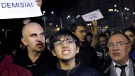 Demonstrationen gegen die Regierung in Bukarest