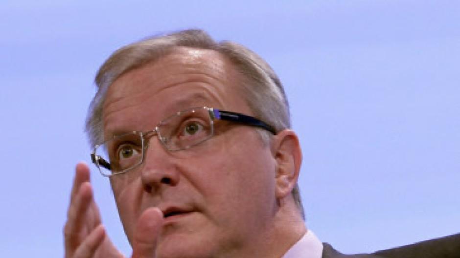 Konsolidierungsziele vorgegeben: EU-Währungskommissar Olli Rehn