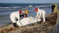 Dutzende Tote an der Küste Libyens angespült