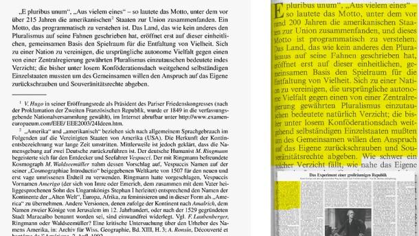 Guttenberg Vergleich Zehnpfennig