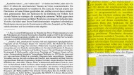 Doktorarbeit (links) und F.A.Z.-Artikel