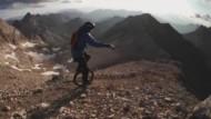 Mit dem Einrad 3000 Meter nach unten