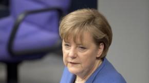 Bundestag -  Regierungserklärung Merkel 1703