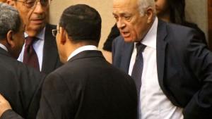Ägyptens Außenminister führt Arabische Liga