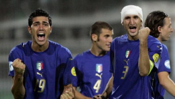 Italiens Fußballer für Olympia qualifiziert
